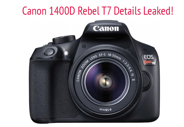 Canon 1400D-T7