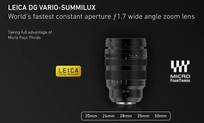 Leica DG Vario-Summilux 10-25mm F-1.7 micro four thirds