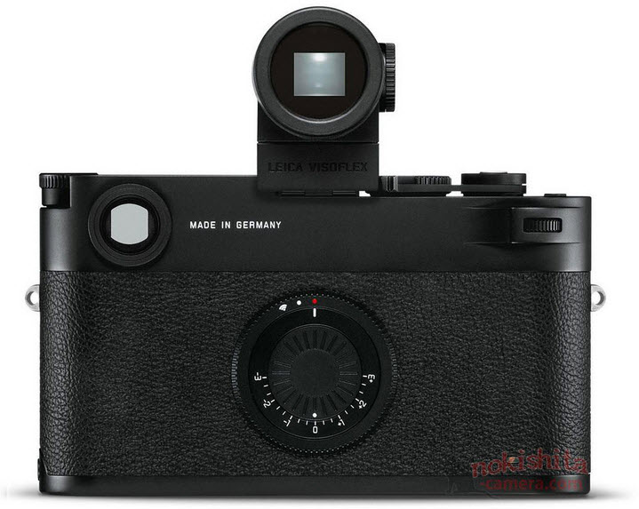 Leica M10-D front view flash raised