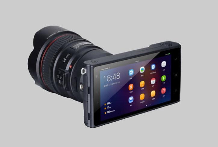 yongnuo mirrorless camera rear view