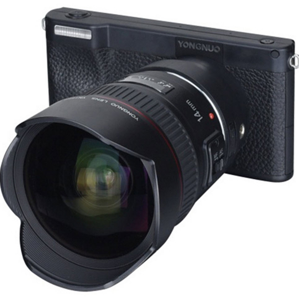 yongnuo mirrorless camera front view